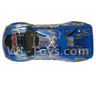 Hosim 9130 Parts-Body shell-RC Car canopy,Car Shell cover-Blue Parts-SJ01,Hosim 9130 RC Car Parts