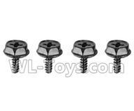 Hosim 9130 Parts-Anti loose Anti loose Screws(4pcs) Parts-WJ07,Hosim 9130 RC Car Parts