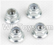 Hosim 9130 Parts-Anti loose nut(4pcs) Parts-WJ08,Hosim 9130 RC Car Parts