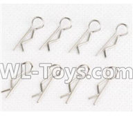 Hosim 9130 Parts-R-shape Pin,Vehicle housing clip(8pcs) Parts-WJ14,Hosim 9130 RC Car Parts