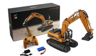 Wl-Model WLtoys 16800 RC Excavator, Wltoys 1/16 RC Construction Equipment for Kids and Adults