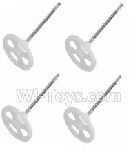 SYMA X5S X5SW X5SC Parts-45 Main gear with shaft(4pcs) For SYMA X5S X5SC X5SC Quadcopter UFO parts