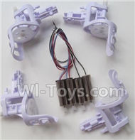 SYMA X5S X5SW X5SC Parts-53 Motor unit(4pcs) & Main motor(4pcs) For SYMA X5S X5SC X5SC Quadcopter UFO parts