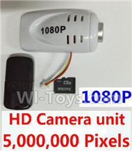 SYMA X5S X5SW X5SC Parts-73 HD 1080P Camera unit,5,000,000 Pixels(Include the 8GB Memory card,Camera,Reader) For SYMA X5S X5SC X5SC Quadcopter UFO parts