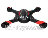 SongYang toys X11 Parts-02 Upper and bottom shell cover,Upper canopy For the SY X11 UFO X-11 RC Quadcopter