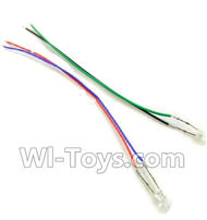 SongYang toys X11 Parts-14 Light wire for the Quadcopter(2pcs) For the SY X11 UFO X-11 RC Quadcopter