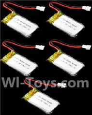 SongYang toys X11 Parts-24 Official 3.7v 600mah 25c battery for SongYang X6 Quadcopter(5pcs) For the SY X11 UFO X-11 RC Quadcopter