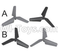 SongYang toys X18 Parts-05 Main rotor blades,Propellers(4pcs) For the SY X18 UFO X-18 RC Quadcopter