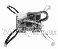 SongYang toys X18 Parts-24 Receiver board,Circuit board For the SY X18 UFO X-18 RC Quadcopter