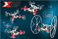 SongYang toys X19 X-19 Quadcopter SY X19 UFO rc drone Battery 2 4G