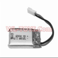 SongYang toys X2 Parts-19 Official 3.7v 380mah battery(1PCS) For the SongYang toys X2 RC Quadcopter UFO,Drone,helicopter parts