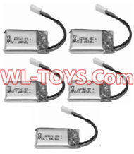SongYang toys X2 Parts-20 Official 3.7v 380mah battery(5PCS) For the SongYang toys X2 RC Quadcopter UFO,Drone,helicopter parts