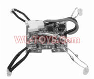 SongYang toys X2 Parts-31 Receiver board,Circuit board For the SongYang toys X2 RC Quadcopter UFO,Drone,helicopter parts