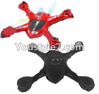 SongYang toys X22 Parts-01 Upper and Bottom shell cover,Upper canopy-Red For the SY X22 UFO X-22 RC Quadcopter