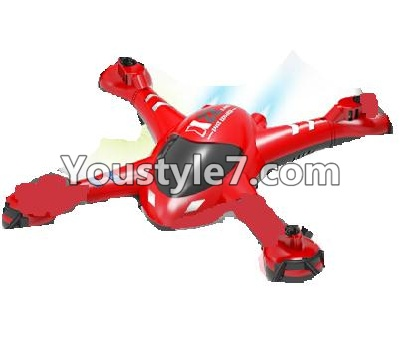 SongYang toys X22 Parts-02 Upper shell cover,Upper canopy-Red For the SY X22 UFO X-22 RC Quadcopter