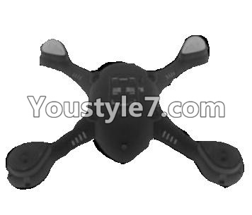 SongYang toys X22 Parts-03 Bottom shell cover,Bottom canopy-Black For the SY X22 UFO X-22 RC Quadcopter