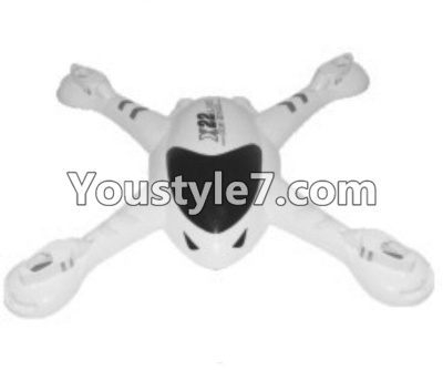 SongYang toys X22 Parts-07 Upper shell cover,Upper canopy-White For the SY X22 UFO X-22 RC Quadcopter