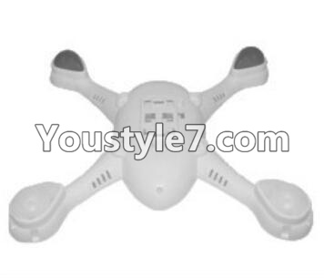 SongYang toys X22 Parts-08 Bottom shell cover,Bottom canopy-White For the SY X22 UFO X-22 RC Quadcopter