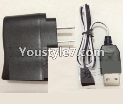SongYang toys X22 Parts-30 USB-TO-Socket conversion plug & USB Charger For the SY X22 UFO X-22 RC Quadcopter