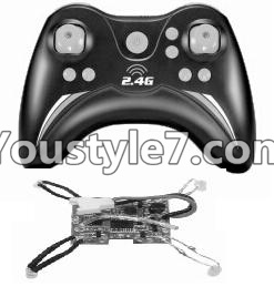 SongYang toys X22 Parts-32 Transmitter & Circuit board For the SY X22 UFO X-22 RC Quadcopter