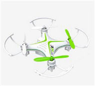 SongYang toys X24 RC Quadcopter,SY X24 RC Mini Drone-Green