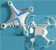 SongYang Toys X24 Spare Parts-02 Upper and Bottom shell cover-Blue,SY X24 RC Quadcopter Spare parts Accessories,SongYang Toys X24 RC Drone Replacement Parts