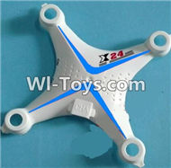 SongYang Toys X24 Spare Parts-04 Upper shell cover-Blue,SY X24 RC Quadcopter Spare parts Accessories,SongYang Toys X24 RC Drone Replacement Parts