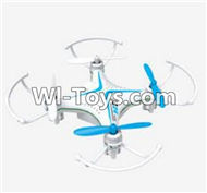 SongYang Toys X24 Spare Parts-30 BNF-Blue(Only the Quadcopter,Include the Battery,No Charger,No Transmitter),SY X24 RC Quadcopter Spare parts Accessories,SongYang Toys X24 RC Drone Replacement Parts