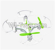 SongYang Toys X24 Spare Parts-31 BNF-Green(Only the Quadcopter,Include the Battery,No Charger,No Transmitter),SY X24 RC Quadcopter Spare parts Accessories,SongYang Toys X24 RC Drone Replacement Parts
