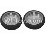 SongYang toys X25 Parts-07 The front wheel(2pcs) For the SY X25 UFO X-25 RC Quadcopter