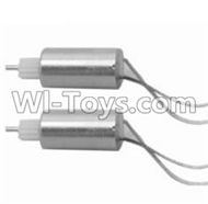SongYang toys X25 Parts-16 The side motor for the Front wheel(2pcs) For the SY X25 UFO X-25 RC Quadcopter
