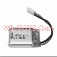 SongYang toys X3 Parts-19 Upgrade l 3.7v 380mah battery(1PCS) for the SongYang X3 Quadcopter SY X3 UFO rc drone