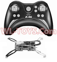 SongYang toys X3 Parts-29 Transmitter & Circuit board for the SongYang X3 Quadcopter SY X3 UFO rc drone