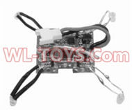 SongYang toys X3 Parts-31 Receiver board,Circuit board for the SongYang X3 Quadcopter SY X3 UFO rc drone