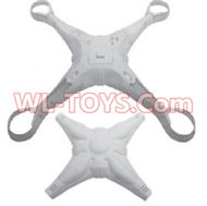 SongYang toys X7 Parts-01 Upper and bottom shell cover,Upper canopy