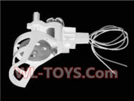 SongYang toys X7 Parts-08 Reversing-rotating Motor Assembly(Include the Motor seat,Main Motor and main gear)-1pcs-(The motor cover Color is Blue)