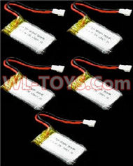 SongYang toys X7 Parts-18 Official 3.7v 500mah 25c battery for SongYang X6 Quadcopter(5pcs)