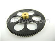 Subotech S900 Parts-09 Lower main gear with coppter sleeve For Toruk arokto Subotech S900 helicopter parts