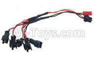 Subotech S900 Parts-29 Upgrade 1-to-5 usb charger wire For Toruk arokto Subotech S900 helicopter parts