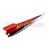 Subotech S900 Parts-31 The fuselage cover-Red For Toruk arokto Subotech S900 helicopter parts