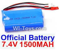 Subotech S902 Spare parts-42 Battery 7.4v 1500ma Red plug Spare Parts Replacement Accessories For Subotech S902 RC Helicopter,Huge RC Helicopter