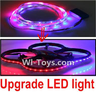 Subotech S910 Spare Parts-42 Upgrade LED liight unit-More convenient to play at night,More beautiful,Subotech S910 RC Quadcopter Drone Spare Parts Accessories,S910 RC Drone Replacement Parts