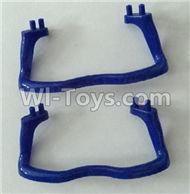 SYMA X5C Parts-23 Landidng skid,Tripod(2pcs)-Blue For SYMA X5C Quadcopter parts,X5C UFO Parts