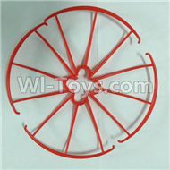 SYMA X5C Parts-25 Outer protect frame(4pcs)-Red For SYMA X5C Quadcopter parts,X5C UFO Parts
