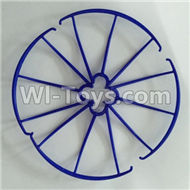SYMA X5C Parts-26 Outer protect frame(4pcs)-Blue For SYMA X5C Quadcopter parts,X5C UFO Parts