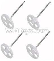 30-Main gear with shaft(4pcs) For SYMA X5 X5C Quadcopter parts,SYMA X5 X5C Parts