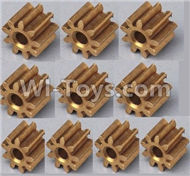 35-Small copper gear for the Motor(10pcs) For SYMA X5 X5C Quadcopter parts,SYMA X5 X5C Parts