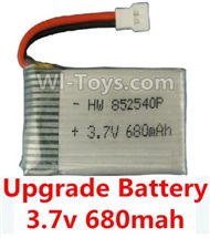 SYMA X5C Parts-42 Upgrade 3.7v 680mah battery(1pcs) For SYMA X5C Quadcopter parts,X5C UFO Parts