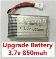 43-Upgrade 3.7v 850mah battery(1PCS) For SYMA X5 X5C Quadcopter parts,SYMA X5 X5C Parts