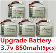 46-Upgrade 3.7v 850mah battery(5pcs) For SYMA X5 X5C Quadcopter parts,SYMA X5 X5C Parts